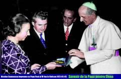 Ceausescu la Vatican