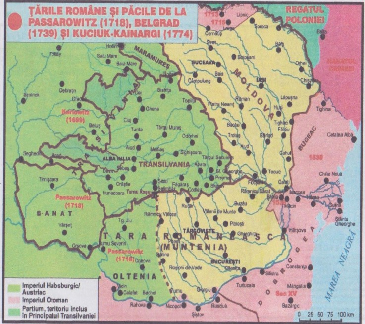 Image result for tarile romane 1774 map