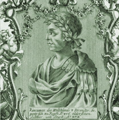Gloria Romanorum: The Unconquerable Ricimer Dies ~ August 18, AD 472