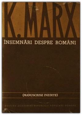 Imagini pentru marx despre români photos