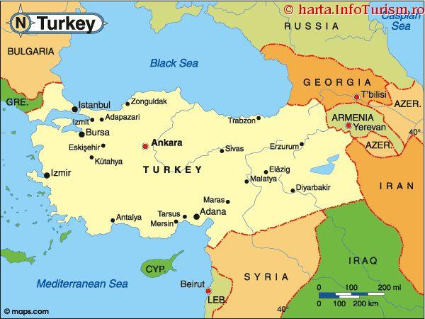Așezare | Turcia