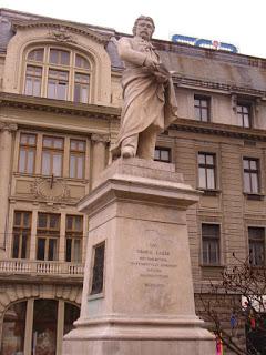 Statui si monumente din Bucuresti: Gheorghe Lazar