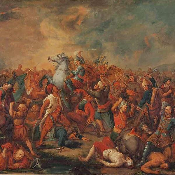 Bătălia de la câmpia mierlei Voivode Dracul Vlach Battle Of Kosovo Polje October 16 17 1448